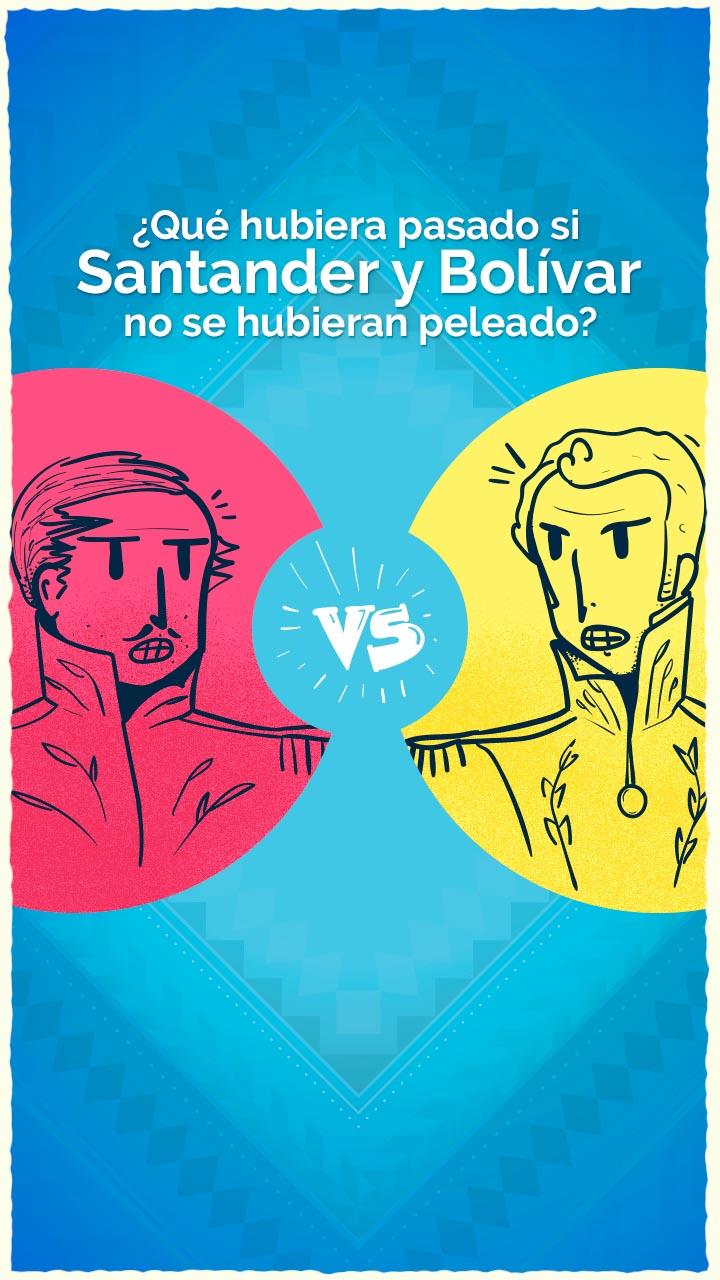 bolivar santander pregunta