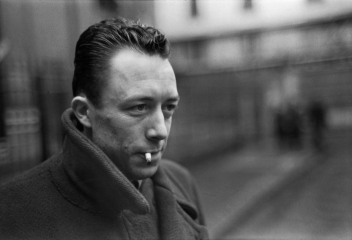 Albert Camus capturado por Cartier Bresson.