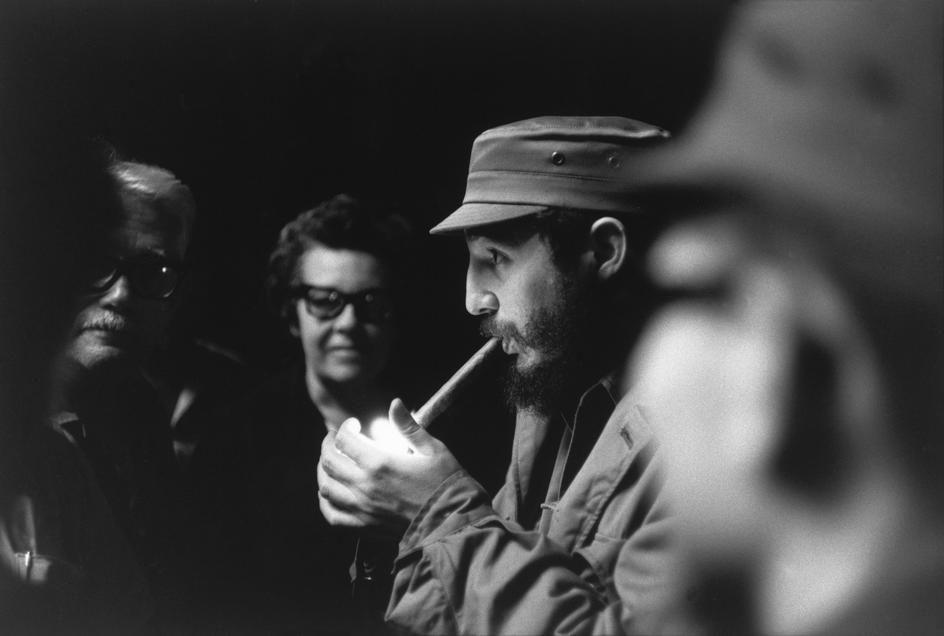 Fidel Castro capturado por Cartier Bresson.
