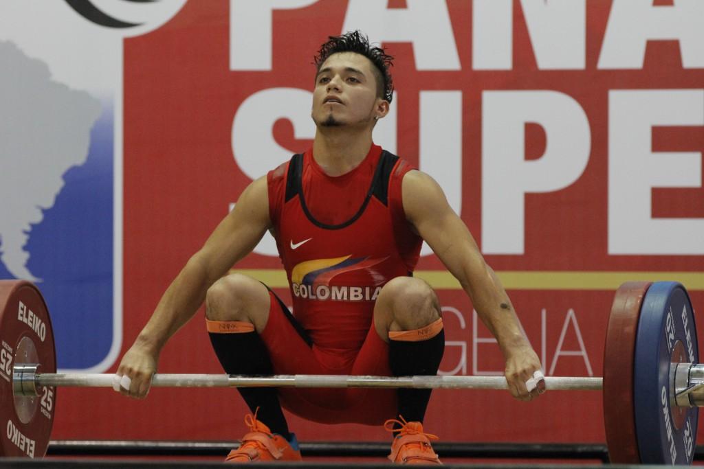 Carlos Berna, pesista colombiano / Comité Olímpico Colombiano