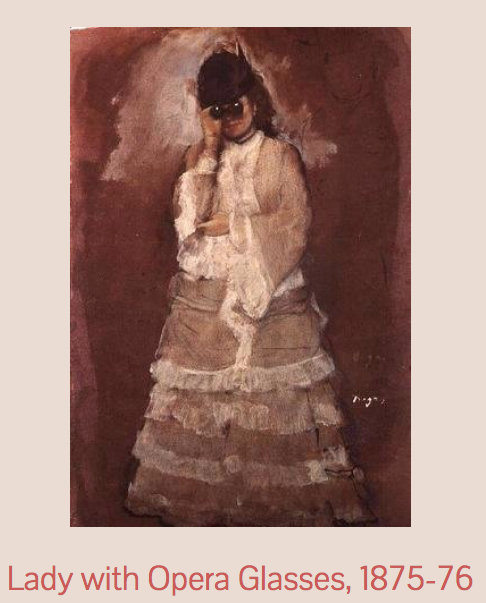 ópera y pintura de Edgar Degas