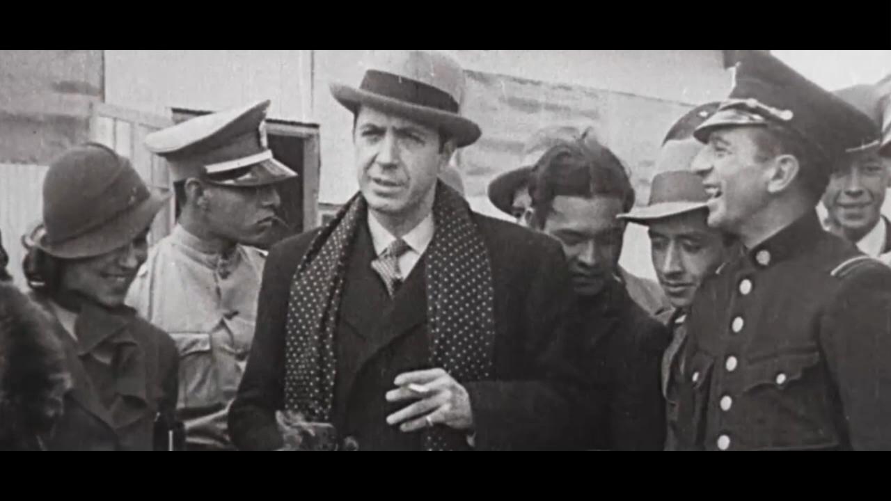 Carlos Gardel antes de morir