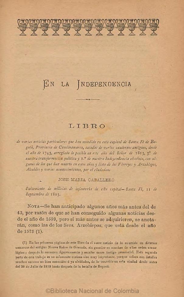 Diario Jose Maria Caballero