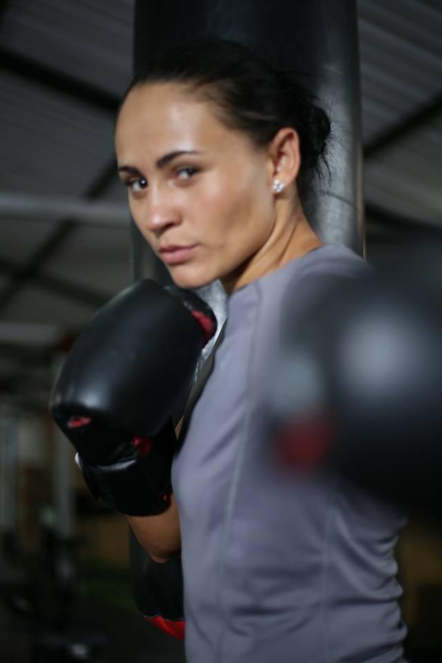 Jenny Marcela Arias, boxeadora colombiana / Facebook Jenny Marcela Arias