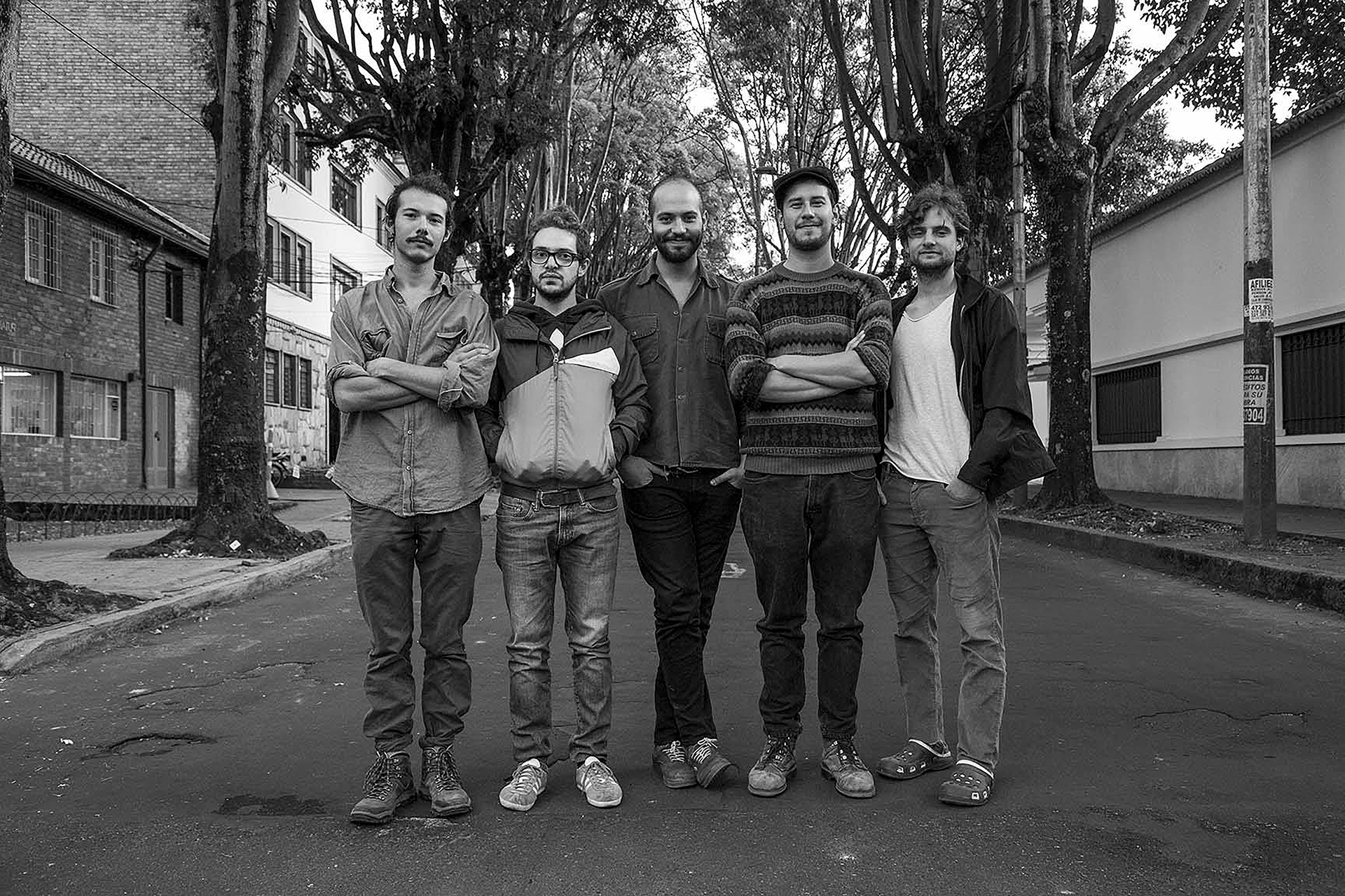 """Colectivo Mario Grande, coproductores de """"Modelo Estéreo"""""""