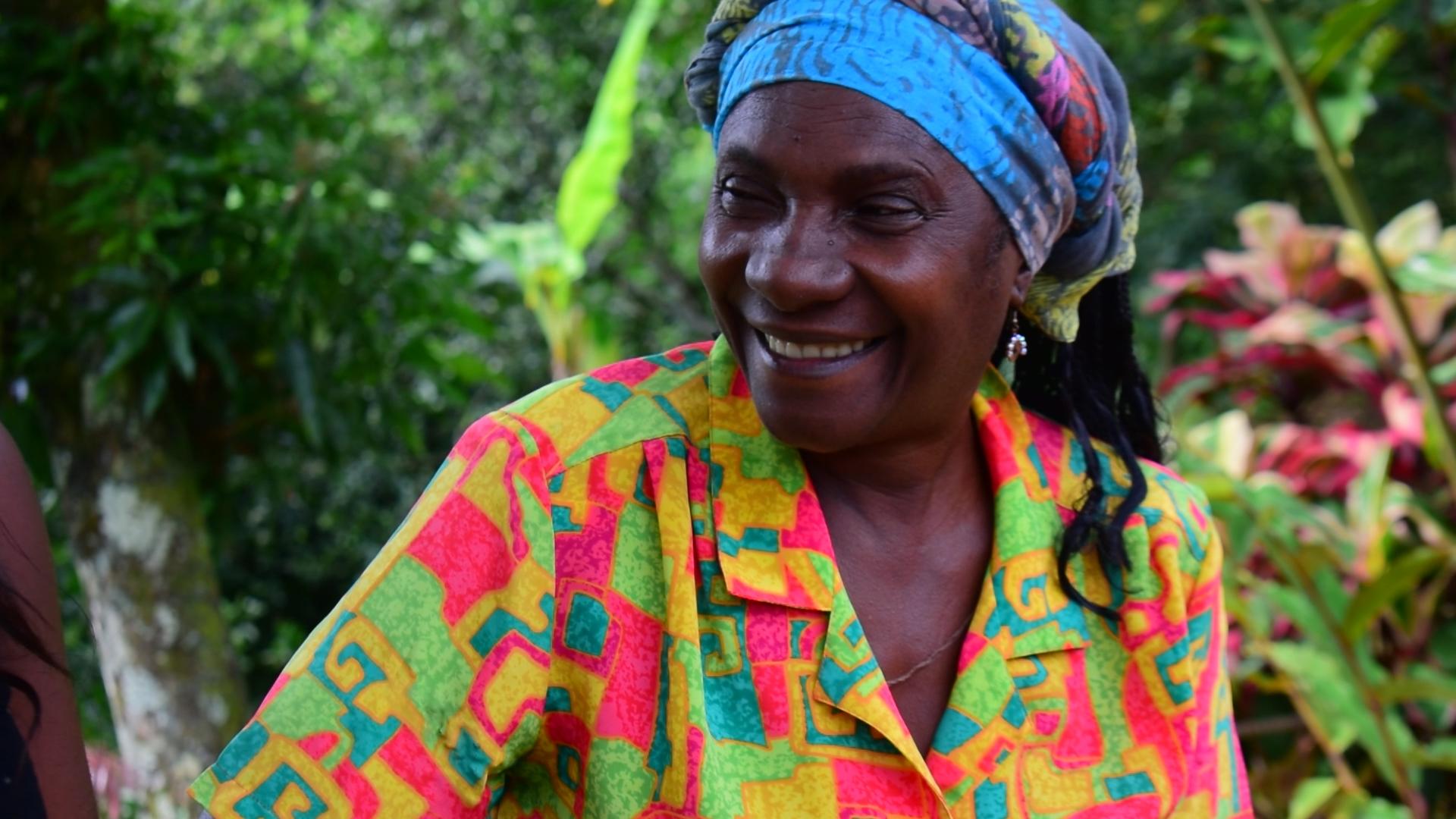 Fotograma del documental Polifonía Afro Femenina.