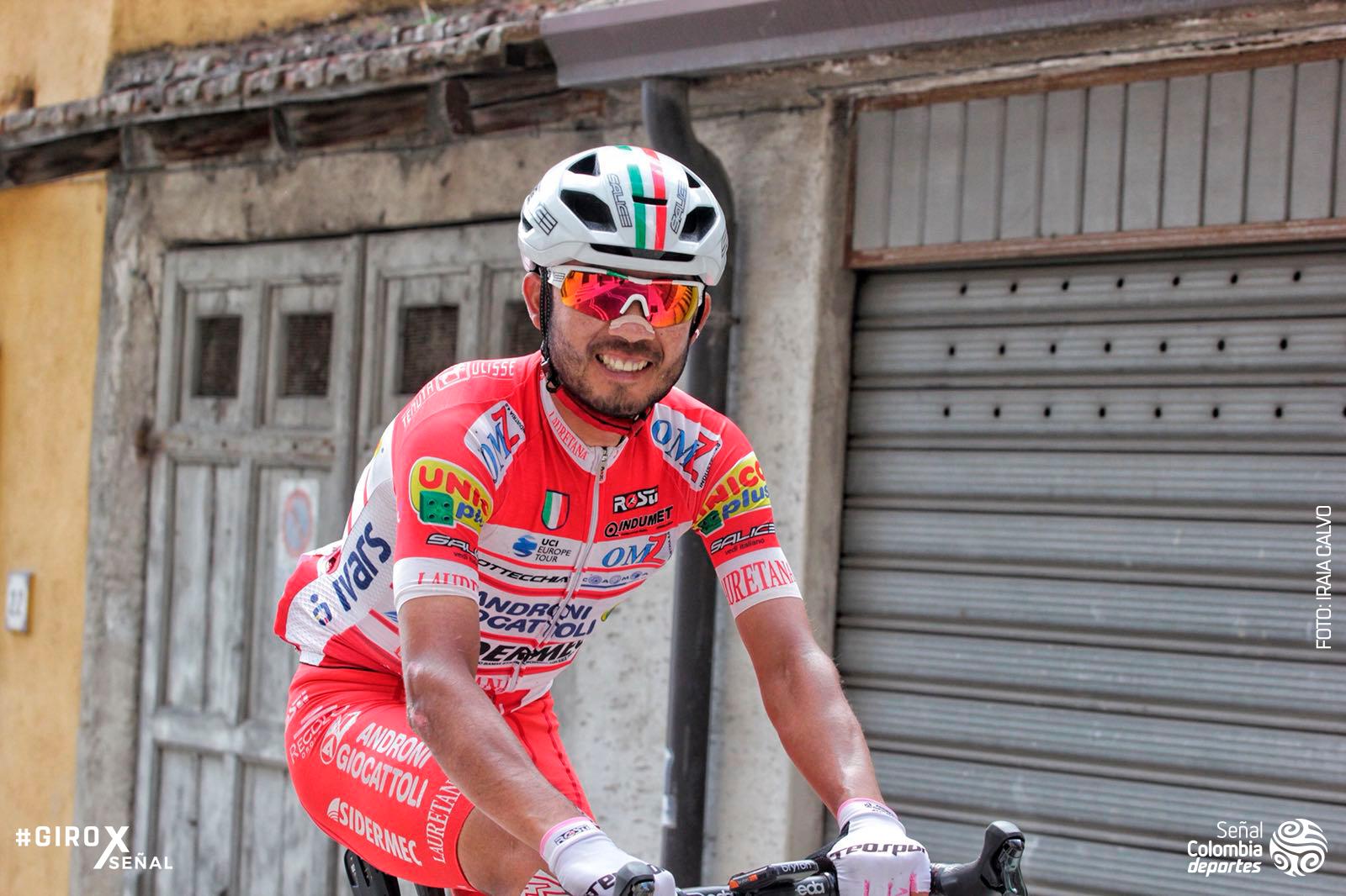 Rodolfo Torres en el Giro de Italia