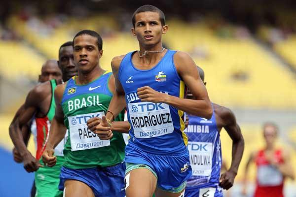 Rafith Rodríguez, atleta colombiano / IAAF oficial