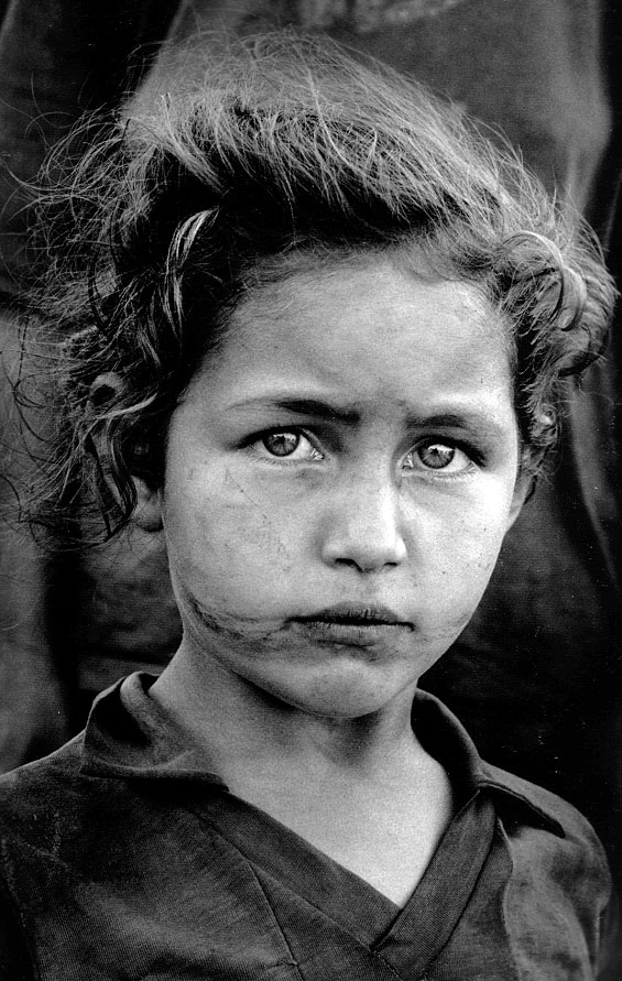 Retrato realizado por Sebastiao Salgado.