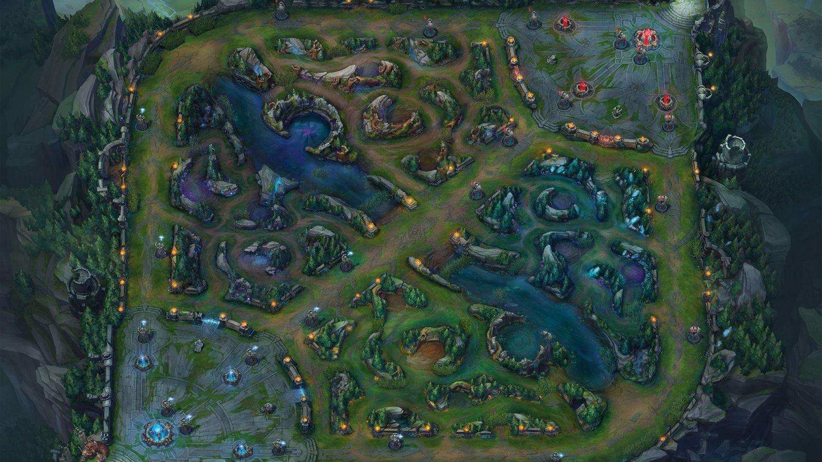 Mapa League of Legends