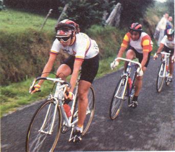 Colombianas en el Tour de Francia 1986