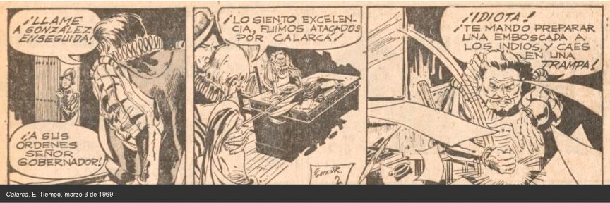 Calarcá, historierta de El Tiempo.