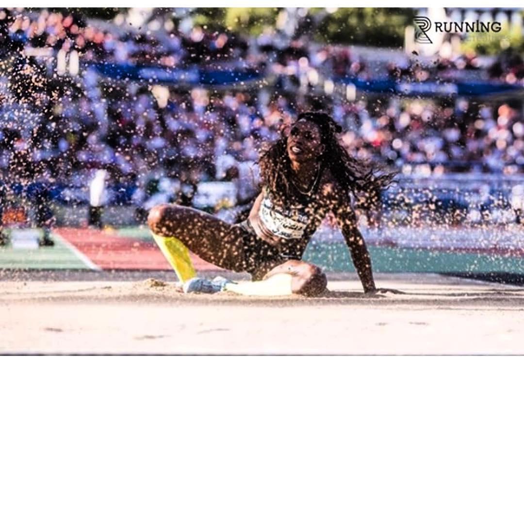 Caterine Ibargüen, atleta colombiana / Instagram Caterine Ibargüen