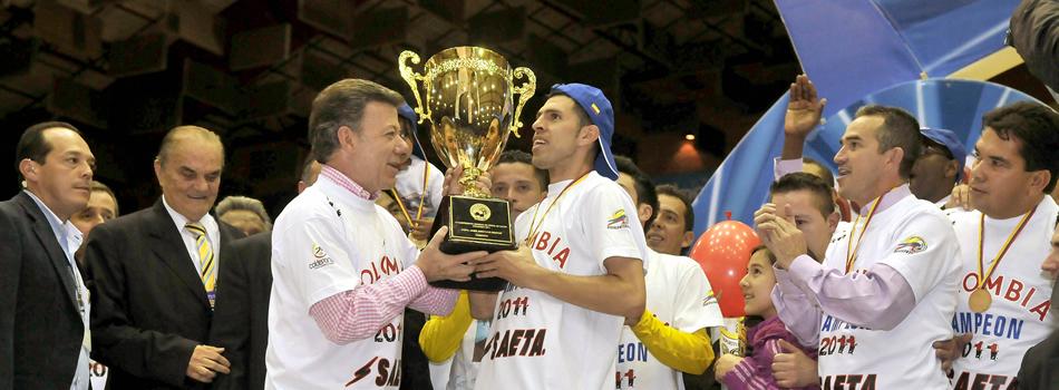 Colombia, campeón mundial de microfútbol en 2011