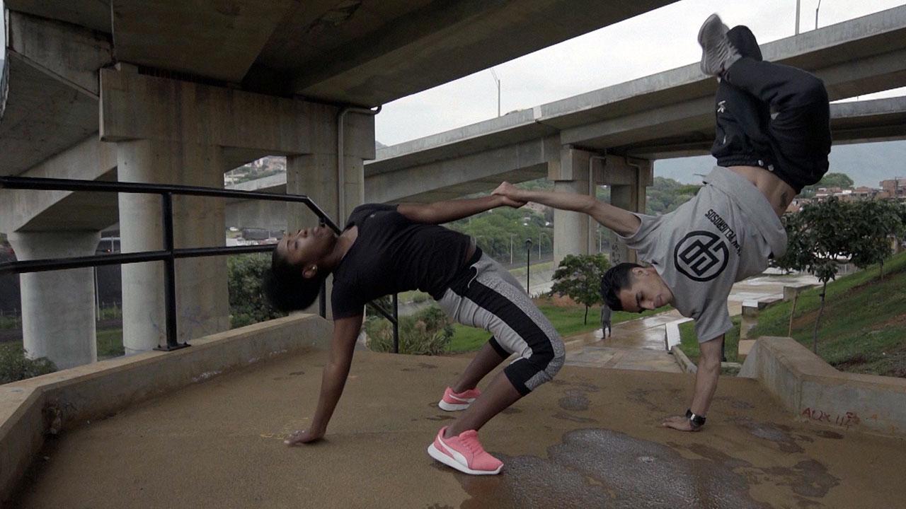 Danza Colombia - Trayecto urbano