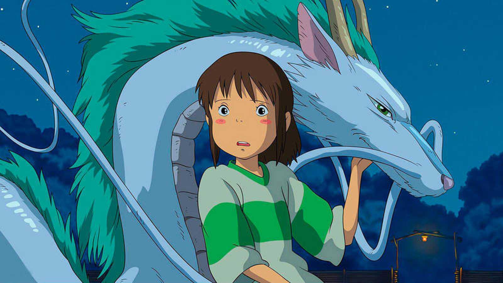 Foto fija de la película El Viaje de Chihiro