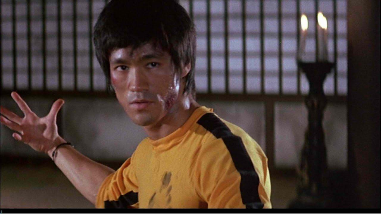 Bruce Lee en a película 'Juego con la muerte'