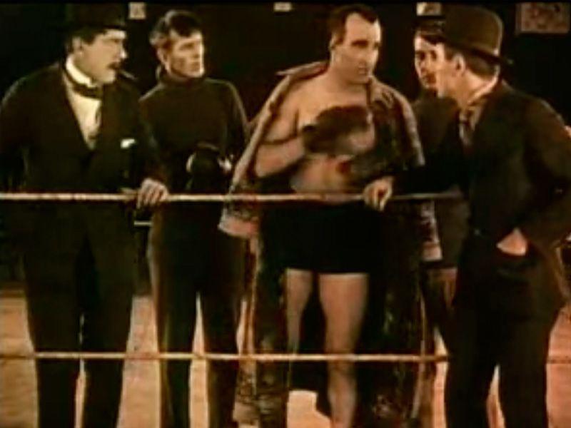 """Escena de '""""Lirios rotos""""' (1919) de D.W. Griffith"""