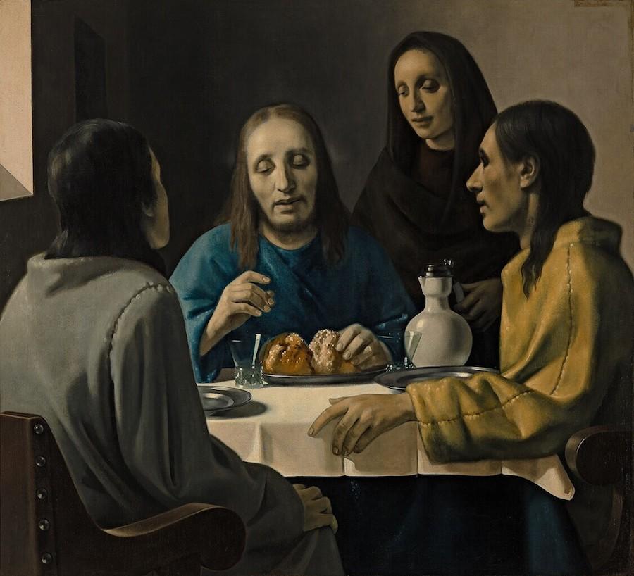 Los discípulos de Emaús, (Meegeren)