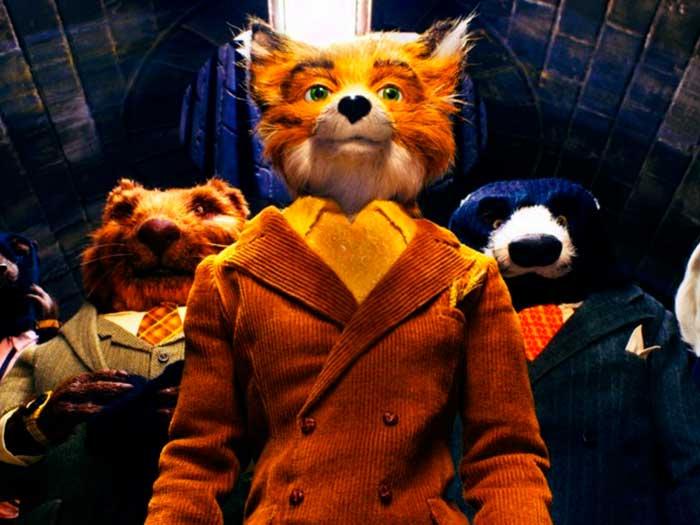Un zorro con traje lidera una pandilla de animales en las alcantarillas en Fantástico Sr. Fox