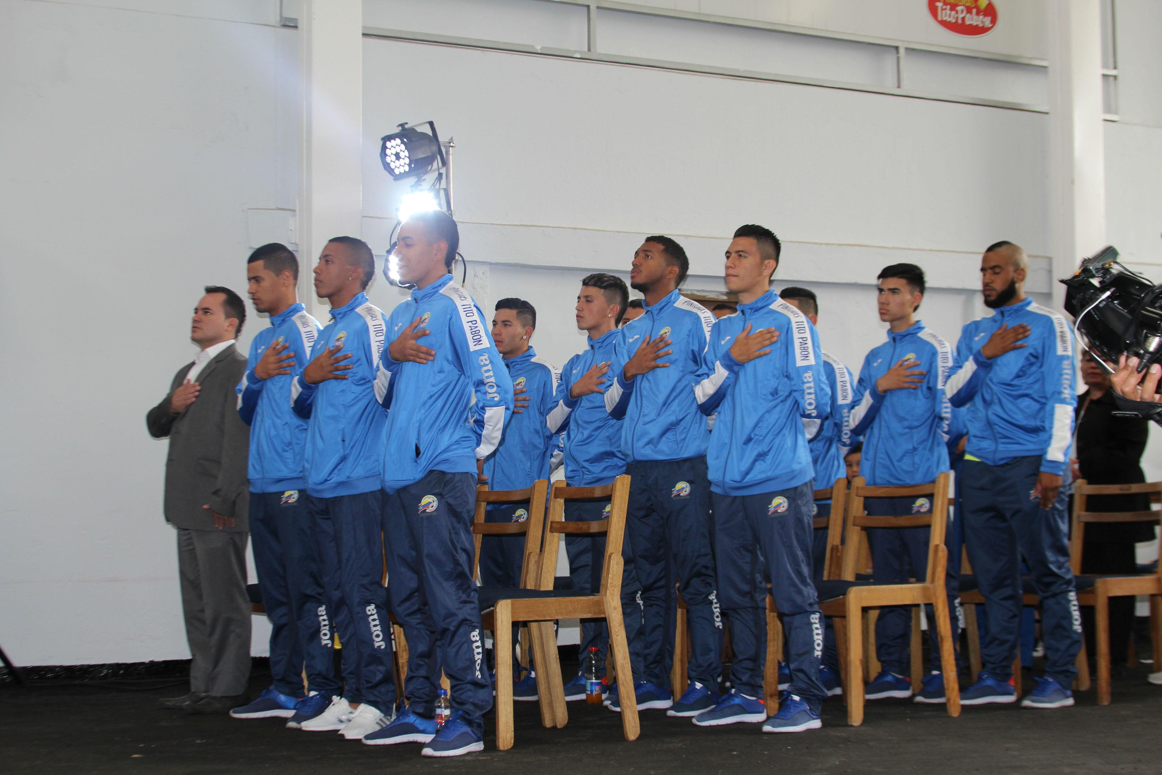 La selección Colombia C-20 de microfútbol
