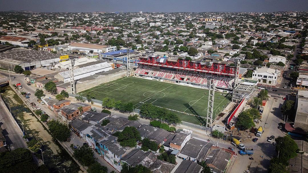 Estadio de fútbol / Barranquilla 2018 oficial