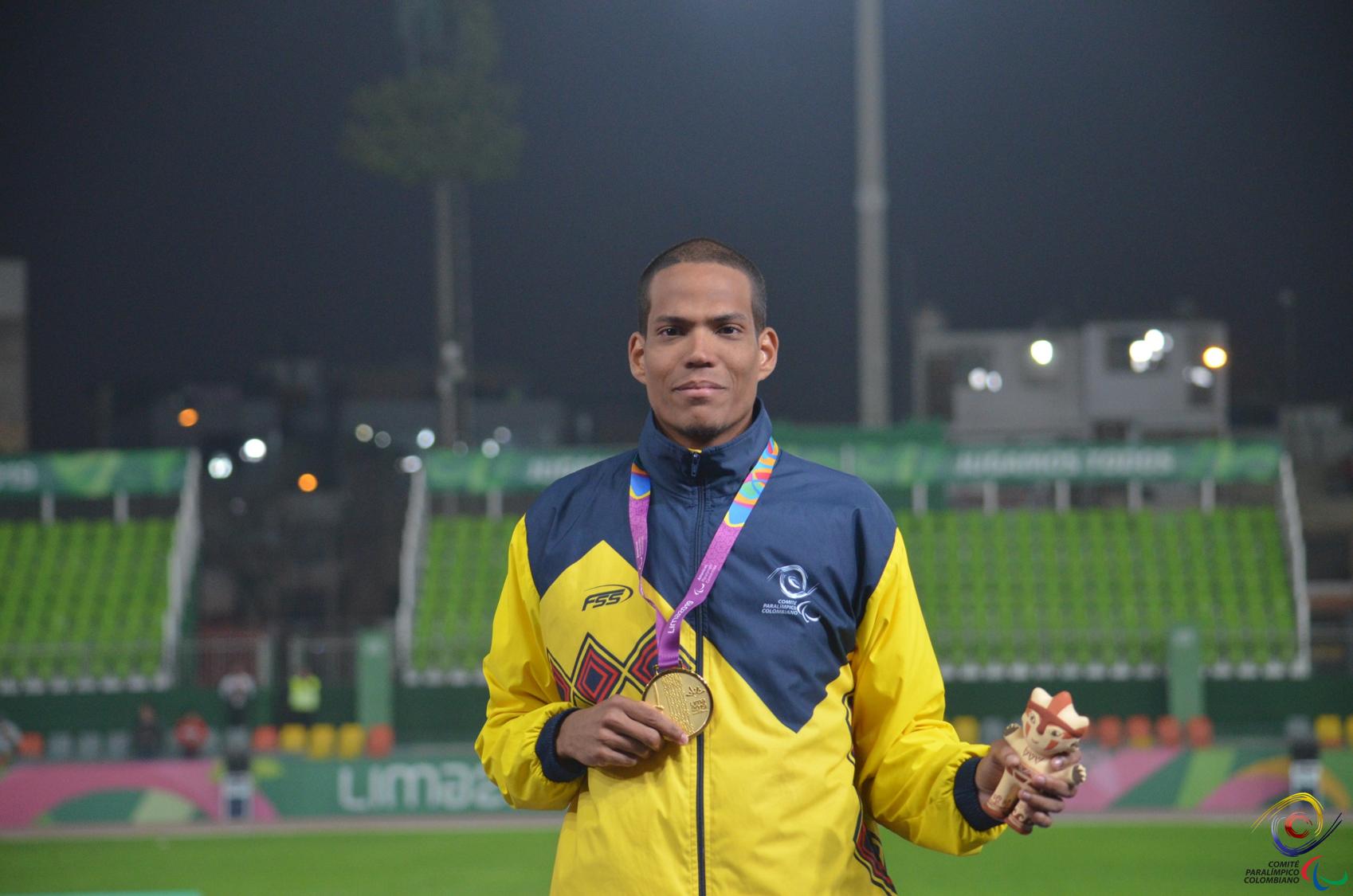 Dixon Hooker / Comité Paralímpico Colombiano