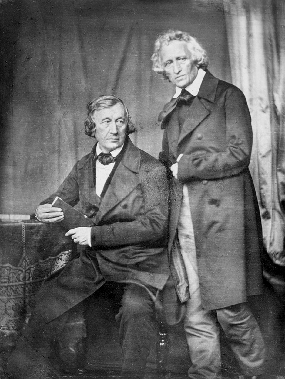 Jacob y Wilhelm, los hermanos Grimm.