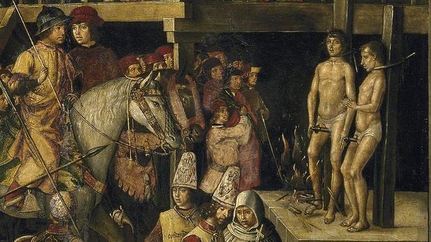 Representación de la inquisición española