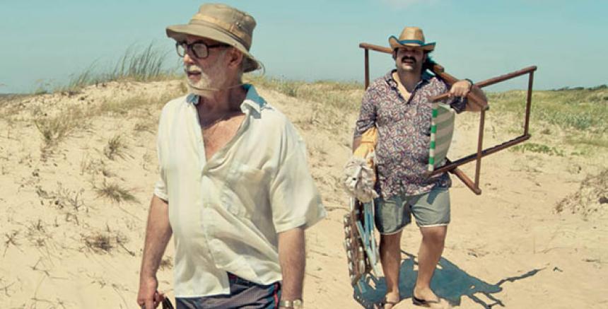 Jacobo Kaplan y Wilson Contreras, protagonistas de la película