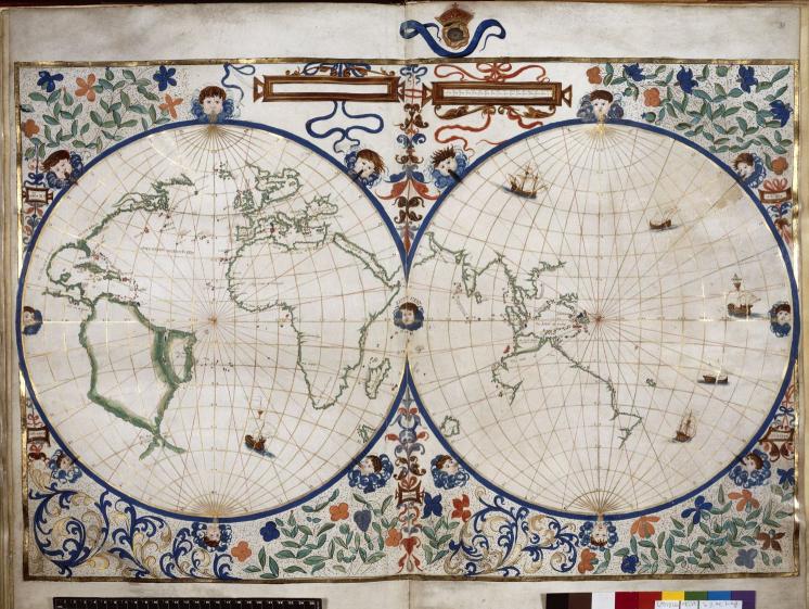Mapa de Jean Rotz