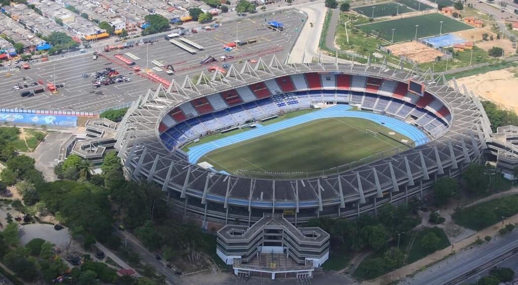 Estadio Metropolitano / Barranquilla 2018 oficial