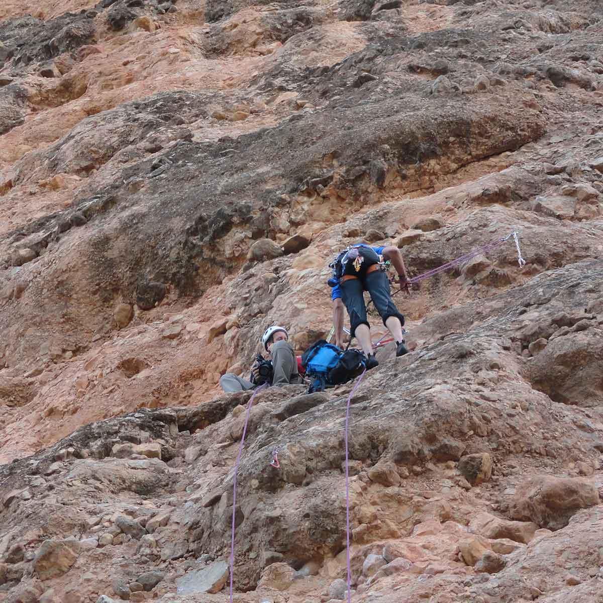 alpinistas en el documental Morir por la cima