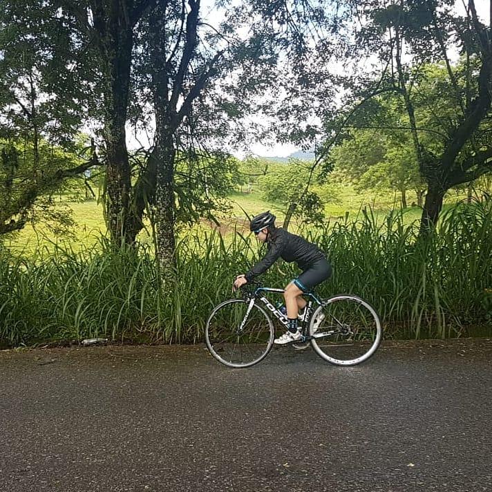 Paula Betancur, ciclista profesional colombiana / Instagram oficial Paula Betancur