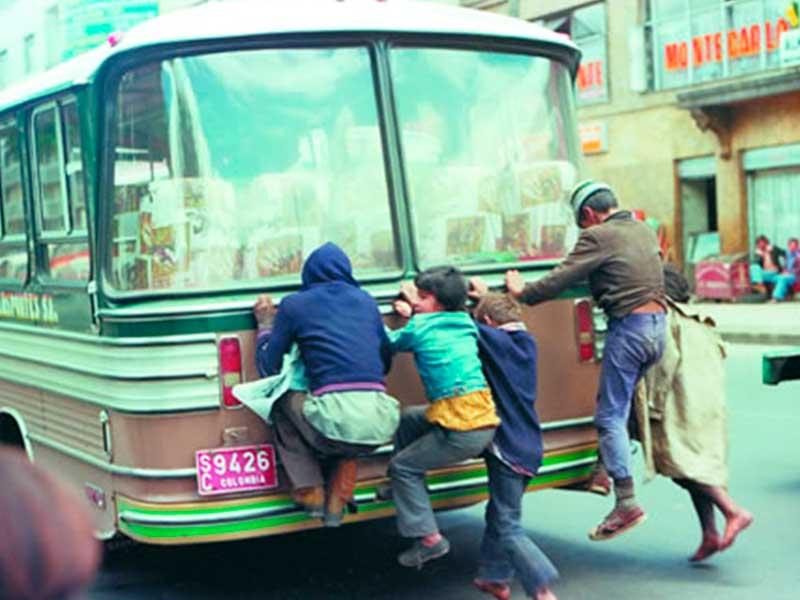 Niños en condición de habitabilidad de calle en el documental Gamín