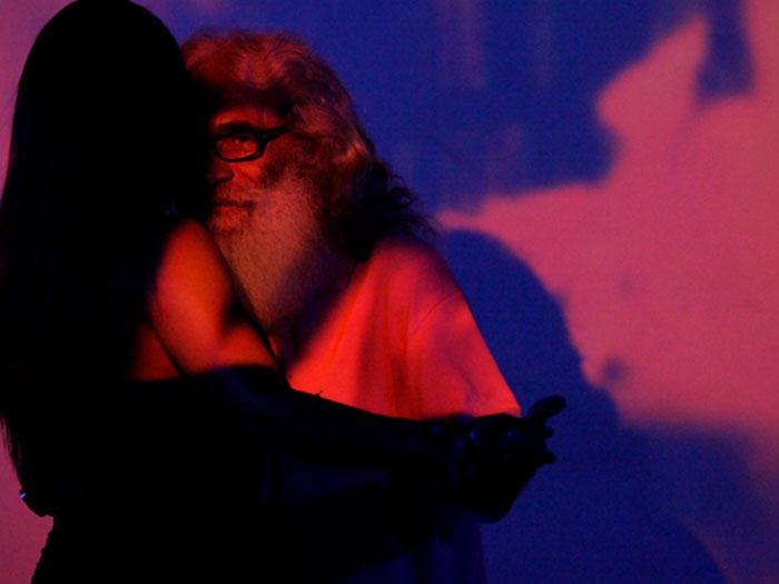 Cucho, protagonista de la película Memorias del calavero
