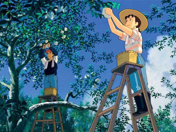 Película Recuerdos del ayer de Isao Takahata