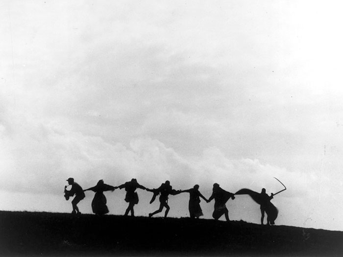 Película séptimo sello Ingmar Bergman