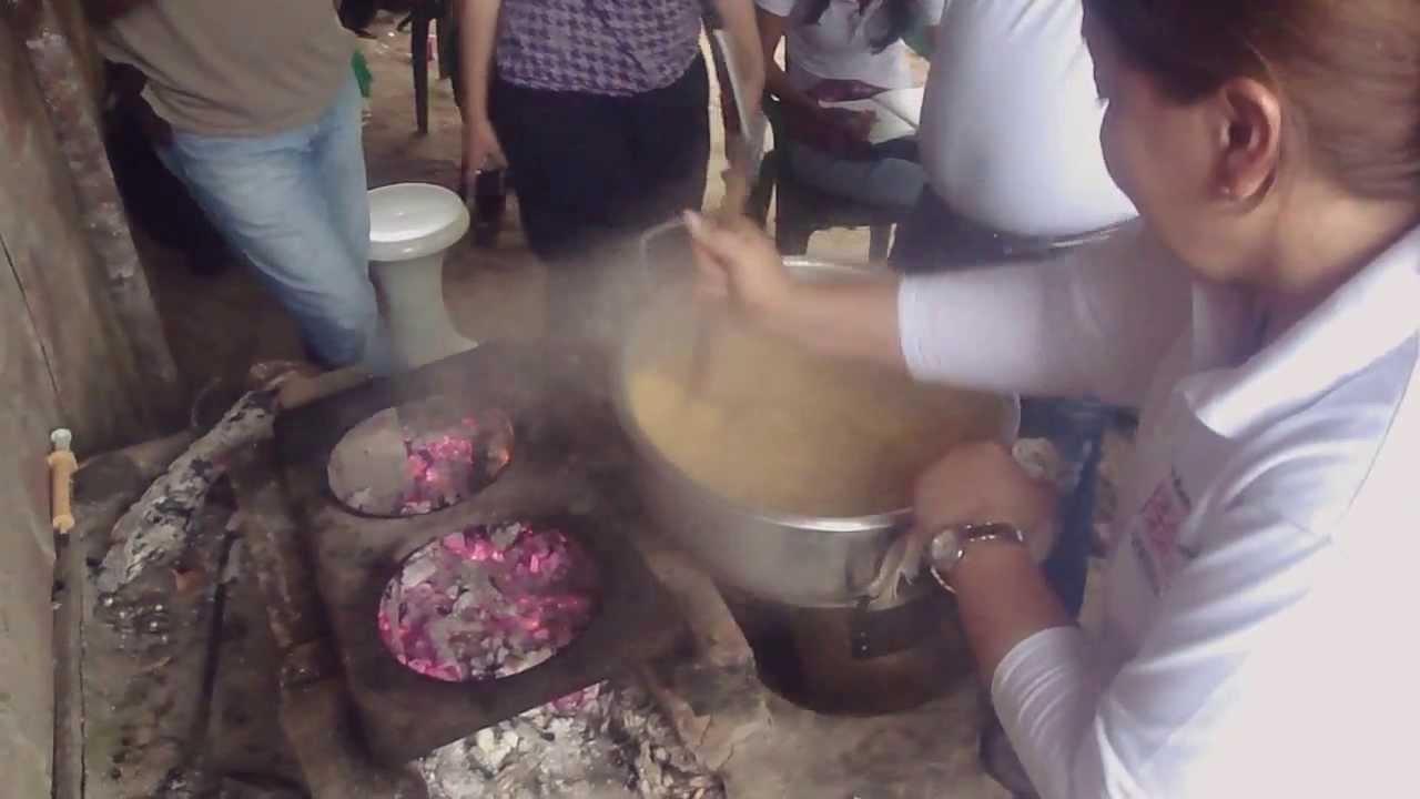 Preparación del plato machuque