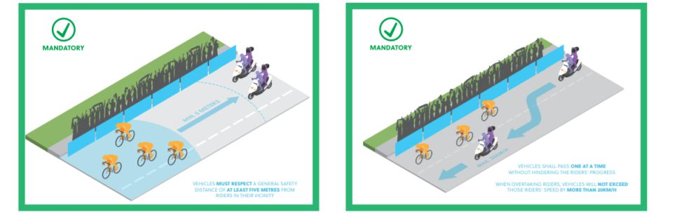 La UCI prohíbe varias posturas en el ciclismo de ruta 4