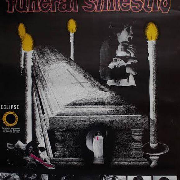 Póster de la película 'Funeral siniestro' (1977)