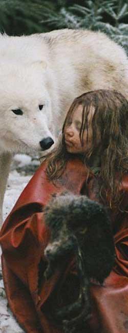 Imagen de la película Sobreviviendo con lobos
