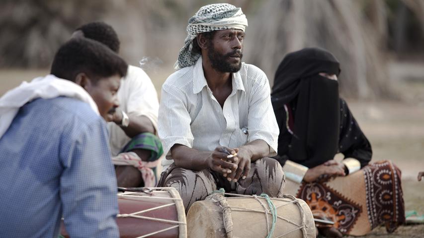 Habitantes de la isla de Socotra en Yemen