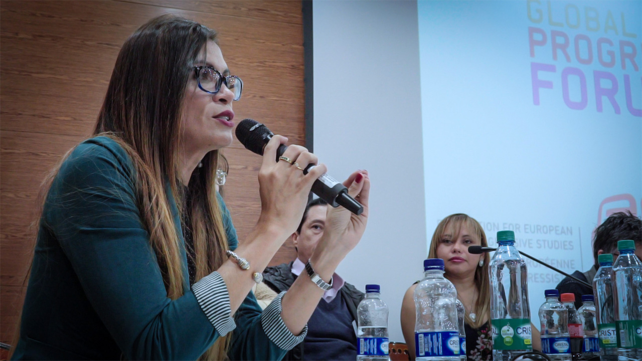 Tatiana Piñeros, candidata al Congreso.