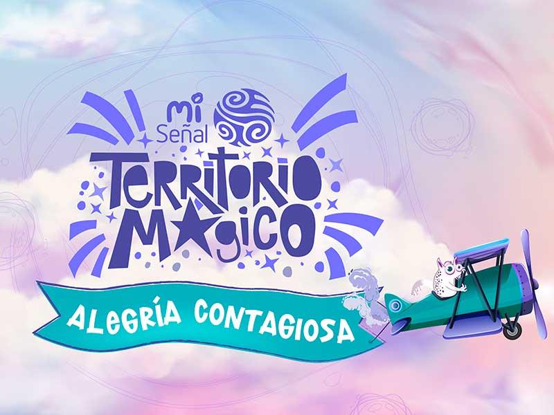 Poster de la segunda temporada de Territorio Mágico de Señal Colombia