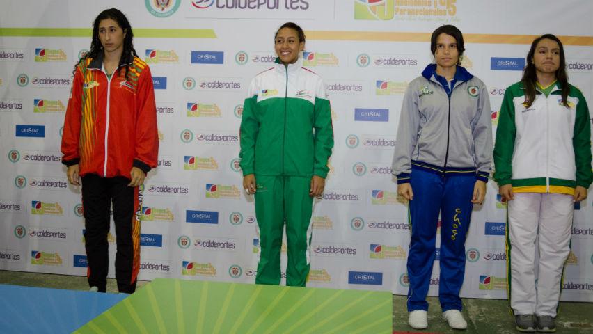 Katherine Dúmar, taekwondista colombiana.