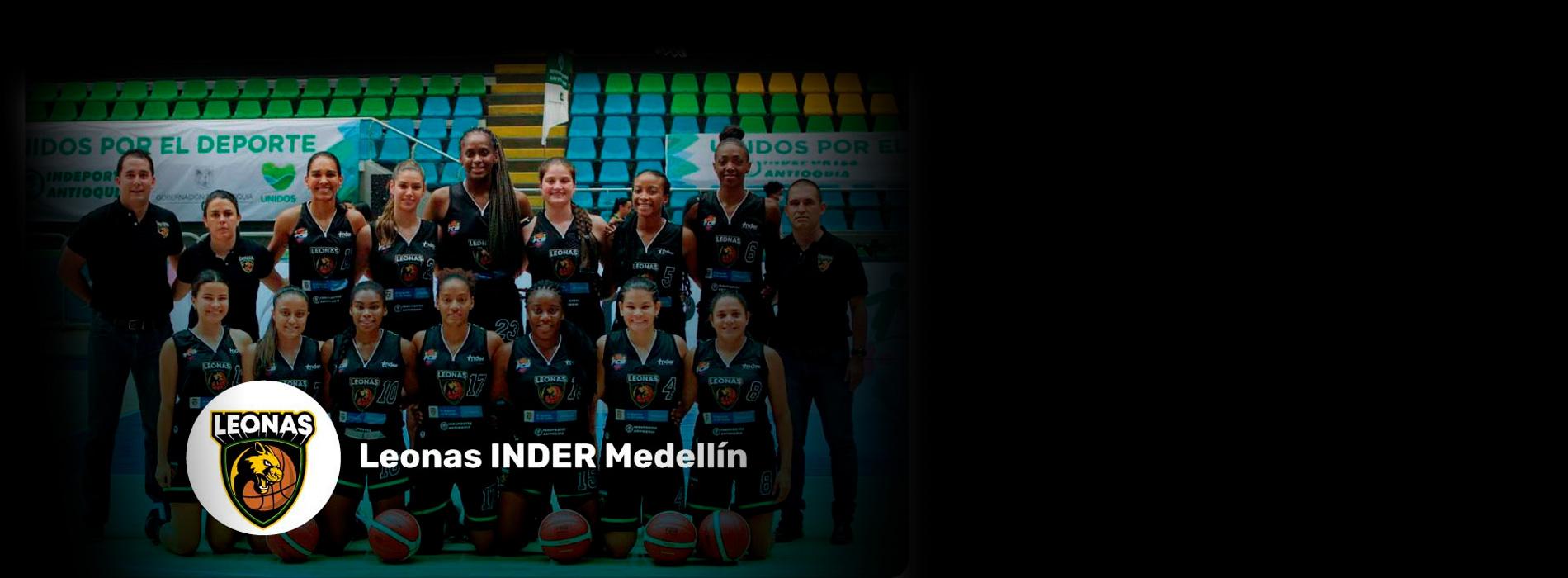 Leonas Inder Medellín campeonas de la LSBF