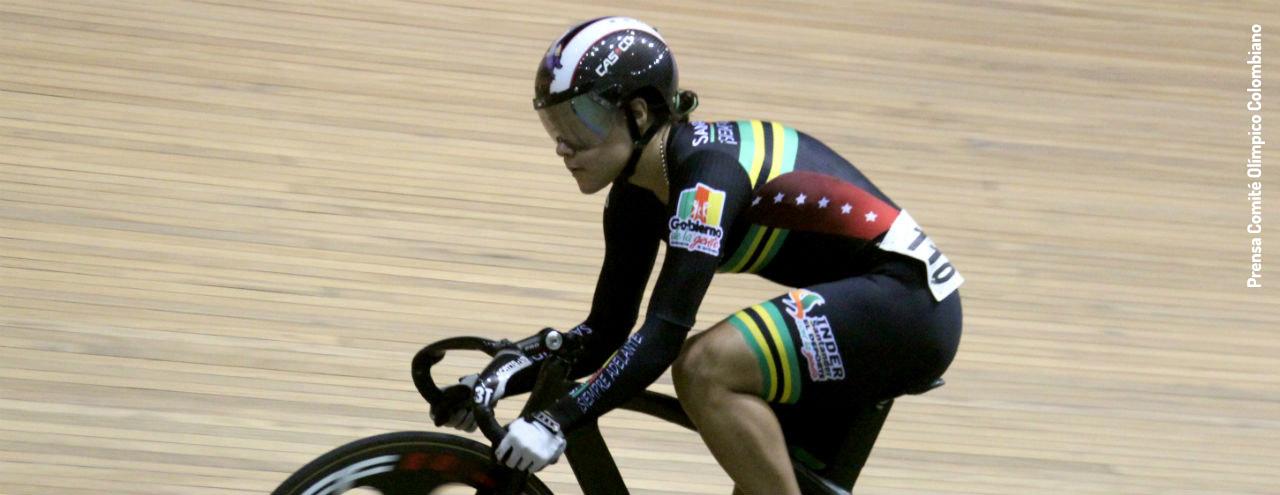 Martha Bayona, la promesa colombiana del ciclismo de pista