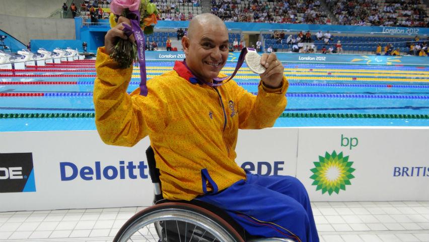 Moisés Fuentes, deportista paralímpico / Comité Paralímpico Colombiano
