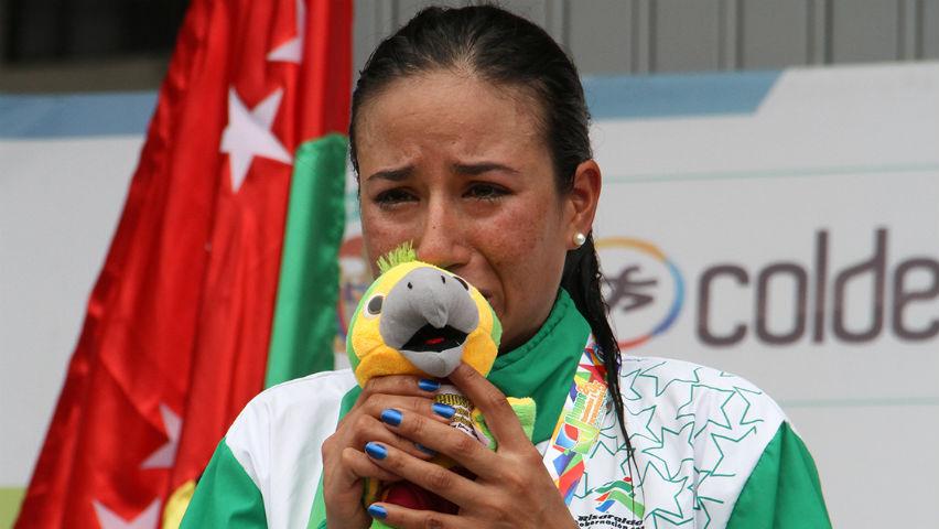 Natalia Muñoz no dijo que estaba embarazada hasta que ganó los Nacionales / Federación Colombiana de Ciclismo